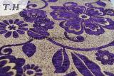 Sofà e mobilia del jacquard dei 2017 fiori del Chenille caldo di vendita grandi