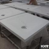 Kkr en acrylique moulé Surface solide base de douche bac à douche profonde