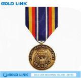 記念品3Dメダルカスタム円形浮彫りの金属は金メダルを制作する