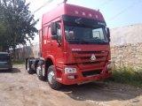 수송 336HP Sinotruk HOWO 6X2 트랙터 트럭