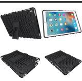 Caisse antichoc de couche des graines duelles de pneu pour l'iPad PRO 9.7 avec la fonction de Kickstand