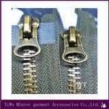 Großhandelsqualitäts-kundenspezifischer Metallreißverschluß für Kleid-Zubehör