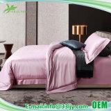 4ПК 100% хлопок роскошные постельные принадлежности розовый мотеля устанавливает