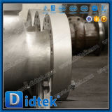 Didtek empernó la válvula de verificación cerrada lenta del acero inoxidable del capo