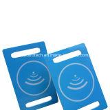 Cartão passivo do código de barras plástico NFC RFID para o pagamento