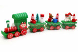 Bois Jouet en train de Noël Cadeau de Noël Cadeau Mini Décoration de table