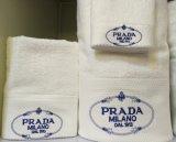 ホテルのためのカスタマイズされた刺繍の綿の浴室タオル