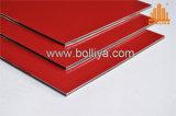 Hohe Glanz-glatte Farben-im Freien zusammengesetztes Zeichen-Aluminiumblatt