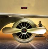 Nuevo hilandero del coche 2017 más hilandero redondo de alta velocidad de la persona agitada del coche de la rueda del giroscopio de la yema del dedo