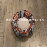 Prodotti di lusso dell'animale domestico della base del cane del sofà dell'animale domestico della tela di canapa di disegno di modo
