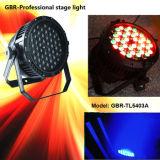 Van het LEIDENE van Gbr het LEIDENE RGBW PARI Lighting/3W*54PCS van het Stadium IP65 PARI van het Stadium kan