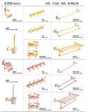 De hete Chinese Toebehoren van de Badkamers van Producten In het groot Geplaatst het Chroom van het Rek van de Handdoek van de Badkamers Bijkomende 6400 Reeksen