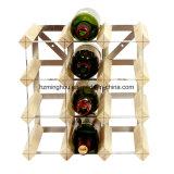 セラーのワインのための木の記憶の陳列だな