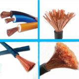 450/750V IEC60245 표준 95mm2 구리 PVC 절연제 전기 용접 케이블