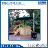 木製の非常に熱いストーブが付いている非常に費用Effcientの木製の温水浴槽