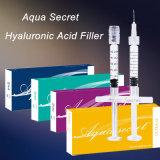 Anti-Enrugamentos e enchimento cutâneo facial da injeção do bordo de Secretha Ha do Aqua do contorno do Reshape