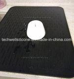 Esteira de secagem do prato do silicone da cozinha do fósforo do tamanho de XXL