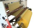 Automatische Hochgeschwindigkeitsaufschlitzenu. Rückspulenmaschine für Papier