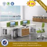 新しいデザイン鋼鉄足のオフィス用家具の飼い葉桶表の机(UL-MFC564)