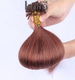 Produtos de cabelos castanho de preços de 16 pol de ponta em U cutícula alinhadas barbeiro