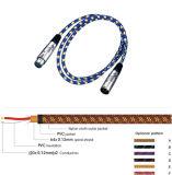 Het audio Vrouwelijke Mannetje van de Schakelaar van het Kanon van de Kabel XLR van de Microfoon van de Kabel Kleurrijke