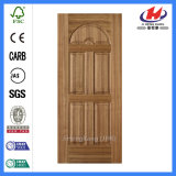 Торговый центр половины характер двери из шпона кожи (JHK-015)