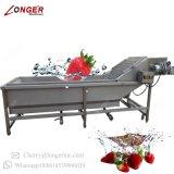 Het industriële Fruit van de Garnalen van de Wasmachine van de Appel van de Paddestoel Schoonmakende Drogende en de Plantaardige Lijn van de Was