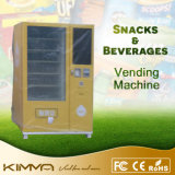 Distributeur automatique extérieur de Minuman et de bière sous une cloche
