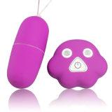 マルチ速度のリモート・コントロール無線振動の性は女性のためのバイブレーターの性のおもちゃに卵を投げつける