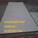 Tarjeta fonoabsorbente de la pared del silicato del calcio