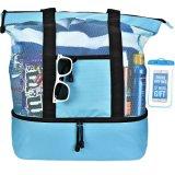 ترويجيّ عالة شبكة شاطئ [توت بغ] مع حقائب باردة