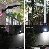 Openlucht ZonneVerlichting 48 Licht van Graden van de Sensor van de LEIDENE het Regelbare Motie van de Hoek Zonne voor Weg Balocony