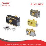 Hardware de la puerta de la noche el pestillo de bloqueo de cilindro fijo de cerrojo con llave equipo LT311