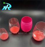 [10وز] شفّافة بلاستيكيّة خمر فنجان