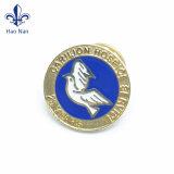Distintivo su ordinazione poco costoso promozionale del tasto dello stagno del metallo di Pin di marchio dell'OEM