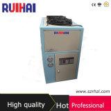 고품질 3HP 필드 산업 냉각장치를 가공하는 건축을%s 공기에 의하여 냉각되는 냉각장치 8.39kw/2.5ton 냉각 수용량 7216kcal/H