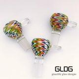 Gldg Amerika Farben-Objektträger-Filterglocke für rauchendes Wasser-Glasrohr