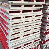 새로운 건축재료 열 절연제 금속 지붕 폴리우레탄 샌드위치 위원회