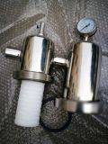 Acero inoxidable pulido de compresor de aire parte de la fábrica de gas (vapor) la caja del filtro