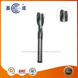 Alta precisión de OEM HRC45/55/60/65 Algunas flautas de carburo sólido final Molino de corte en ángulo utilizado en torno CNC personalizado disponible