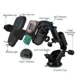 Qi 무선 충전기 빠른 비용을 부과 차 역 홀더 또는 마운트 지능적인 전화 (W8)