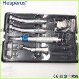 Hesperus外部水スプレー低速手の部分の掛け金式のインプラント歯科Handpiece