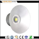 Iluminação contínua elevada do diodo emissor de luz Highbay do alumínio do lúmen 50W da fábrica