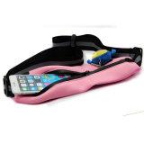 De nieuwe Zak van de Taille van de Sport van Lycra van het Ontwerp, de Lopende Riem van het Venster van pvc van de Fitness van de Hydratie