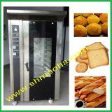 Machine 12 van /Bakery van de Oven van het Stokbrood van de hete Lucht Doorgevende Ovens van het Rek van /Bakery van de Oven van de Convectie van Dienbladen de Elektrische Roterende voor Verkoop