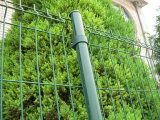 Revestimiento de plástico de PVC Mallas Soldadas para jardín valla