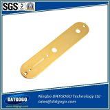 Placca di controllo di alluminio placcata oro lavorante della chitarra della placca di controllo di precisione