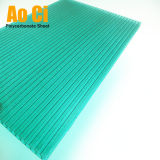 Roofing&Decoration를 위한 Verde 다중 벽 폴리탄산염 장