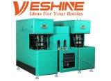 Бутылки любимчика 4 полостей машина Semi автоматической дуя отливая в форму