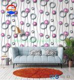 Papier peint de forme annulaire de PVC de configuration pour l'illustration sexy chaude Waiipaper de décoration à la maison